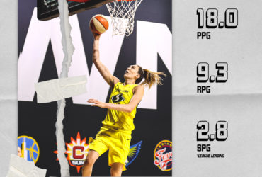 Comeback kid Breanna Stewart takes home WNBA Player of the Week honors